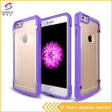 Luxury China Factory Promotions tpu pc combo hybrid case for iphone plastic injection mould shockproof case for iphone 6