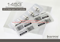 2014 New type coil cylinder 100% original justfog 1453 replaceable coil head for justfog 1453 clearomizer
