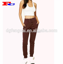 High Quality Plain Training Sports Wear Women Track Pants Tapered Joggers
