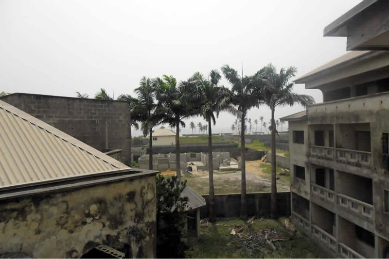 Resort Centre standing on approximately six (6) plots of land and located off Alpha Beach Road in Lekki - Lagos State Nigeria
