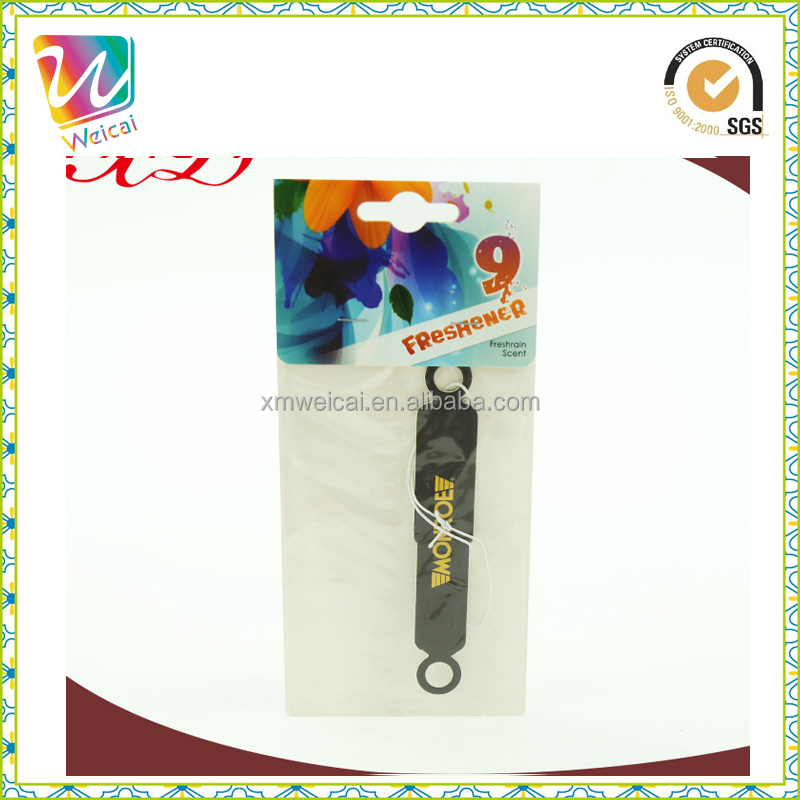 Customized Frangrance/Scent Paper Car Shape Air Freshener with fragrance