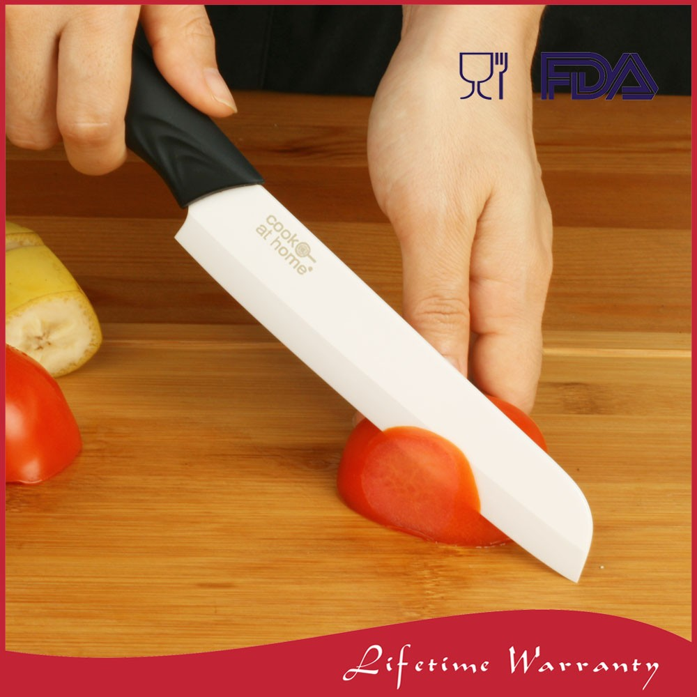 Professional Zirconium Oxide Ceramic Meat Slicing Knife