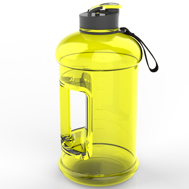 Wholesale Private Label Titan Gel Item of Stronger 2.2L Shaker Water Bottle/Water Jun with Bag
