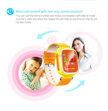 Popular GPS AGPS LBS Remote Monitor Phone Call Smart Watch for Kids
