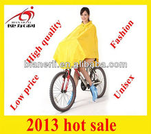 adult polyester bicycle poncho rainwear raincoats