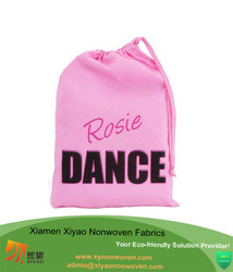 Personalised Dance Bag Small Cotton Drawstring Bag