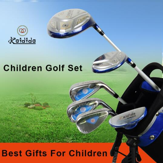 ChinaTaiwan Kaidida Brand 6 pcs Golf Clubs Children half Golf Set,Junior Golf Club Set