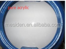 Styrene acrylic polymer emulsion for wall paint raw material