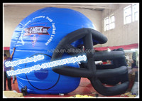 Helmet!!!5m(H) Football Sports Inflatable/Event Inflatable Replica/For outdoor Advertising --W10281