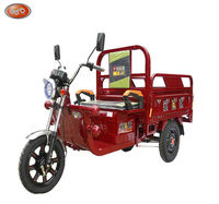 three wheel strong power cute appearance auto rickshaw electric cargo tricycle