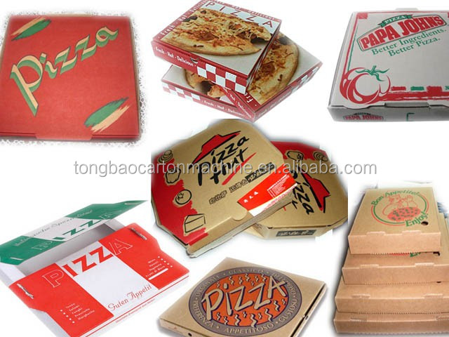 semi automatic corrugated pizza box printing machine
