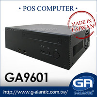 GA9601 - Mini ITX PC for i3, i5, i7 system Industrial Chassis