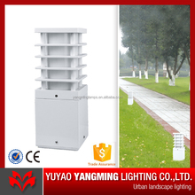 Aluminum IP65 600mm mini modern LED outdoor garden light