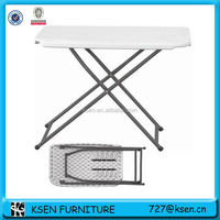 adjustable plastic table with removable legs KC-T73
