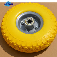 china manufacturer high quality small size pu foam rubber wheel
