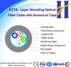 GYTA 48 Core SM/MM Fiber Optic Cable Used For Duct or Aerial