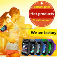 wholesale cheapest high quality adjustable sport running mobile phone armband