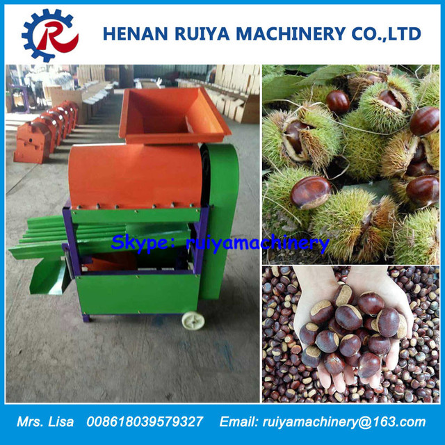 2.2kw High Efficiency Chestnut Shelling Machine/Chestnut Peeling Machine/Chestnut Peeler