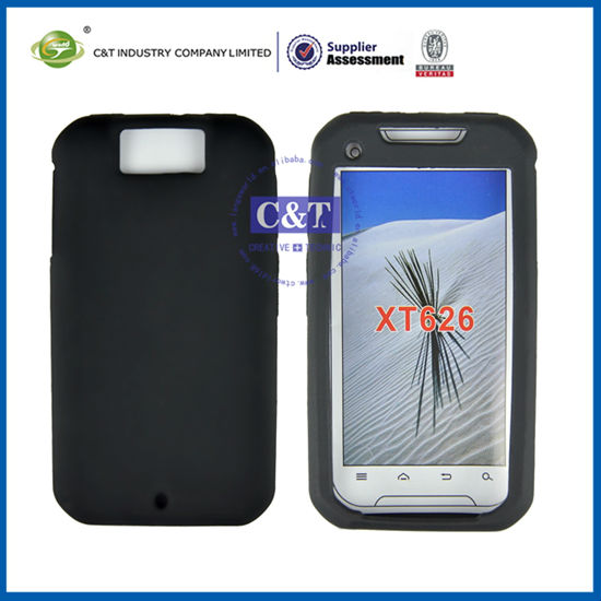 Silicone Case Cover for Motorola Double V XT626