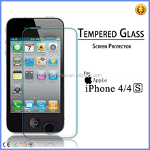 china alibaba tempered glass Screen Protector 2.5D for iphone 4 4s mobile phone accessory accept paypal payment