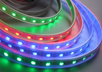 ws2812b 144 led pixe strip light magic strip light with dmx controller ip20 ip65