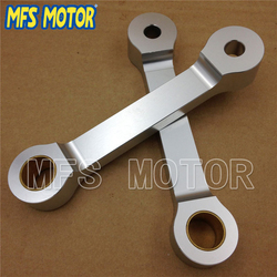 Motorcycle parts Lowering Link kit For Kawasaki EX250 EX 250 1986-2007 Silver