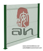 Decorative garden iron fence/anti climb security fence/angle bar fence