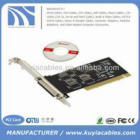 25 pin PCI to serial Parallel 1-Port Controller Card