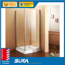 Belize complete corner free standing visible cheap dubai simple enclosed sliding shower room with base