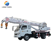 Loongsheen Manufacturer Small Truck Crane 8ton mobile crane for sale