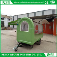 Top Quality Outdoor Churros Food Trucks Mobile Food Cart With Sunshade For Sale