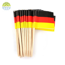 2014 Natural updated bamboo cocktail decorative ball picks with good quality