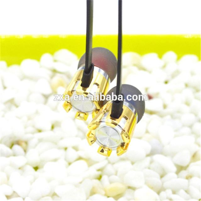 ZX-EP-888 Music share in ear headset With 1.2m flat cable shenzhen factory