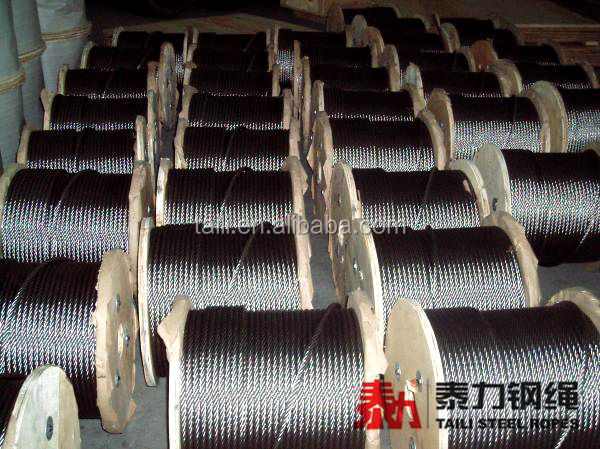 High Quality Zinc Coated Steel Wire Rope, Zinc Plated Steel Wire Rope, Galvanized Steel Wire Rope