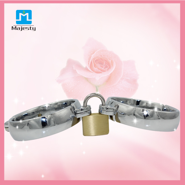 2015 Hot Bondage Sex Products Metal Bondage Handcuff For Woman BDSM Handcuffs Ankle Cuffs