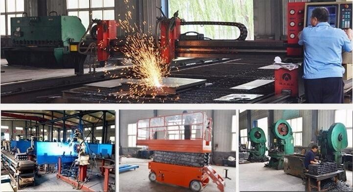 China manufacturer towable diesel trailing boom lift