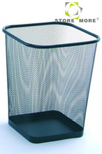 Cheap Wholesale Metal Mesh Paper Waste Basket