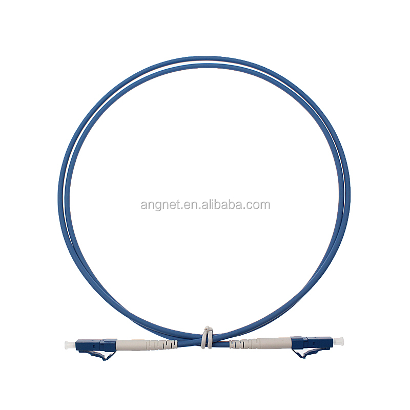 FTTH 3.0mm Blue Indoor LC Armored Patch Cord