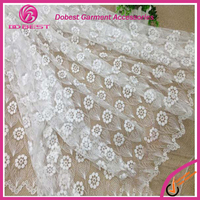 2015 High Quality Modern Design Spanish Lace For Curtains