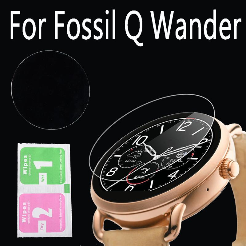 Hot Sale Best Promotion 9H Premium Ultra-thin Explosion-proof Tempered Glass Screen Protector for Fossil <strong>Q</strong> Wander Watch