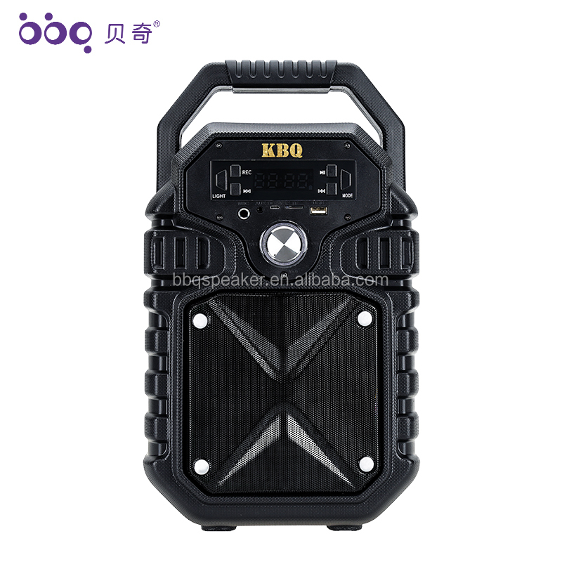 2019 new design karaoke music stereo audio bluetooth speaker subwoofer boombox portable  speaker