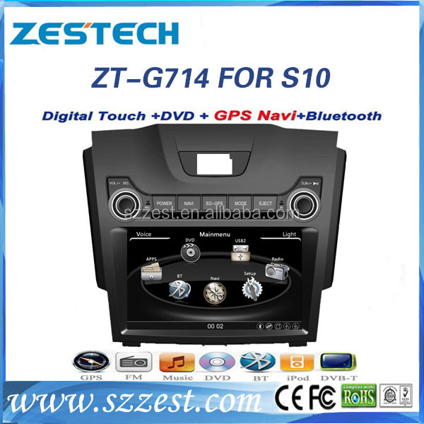 ZESTECH Car Auto Multimedia DVD Player Car for Chevrolet S10 DVD GPS player with BT,IPOD,TV IPHONE menu for Chevrolet S10 DVD