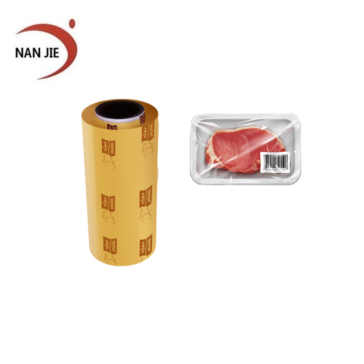best in china hot sales 9mic transparent food packaging wrap high quality pvc cling film