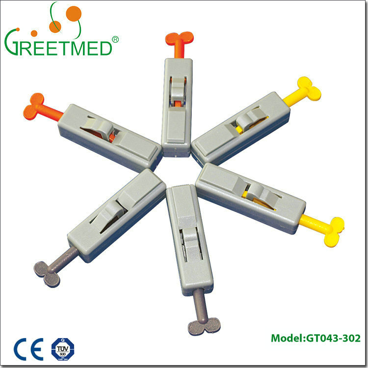 New design factory price single sterile blood lancet