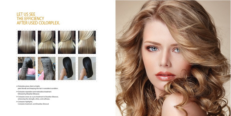 Factory price Colorplex keratin hair treatment professional rebuilt broken disulfide bond