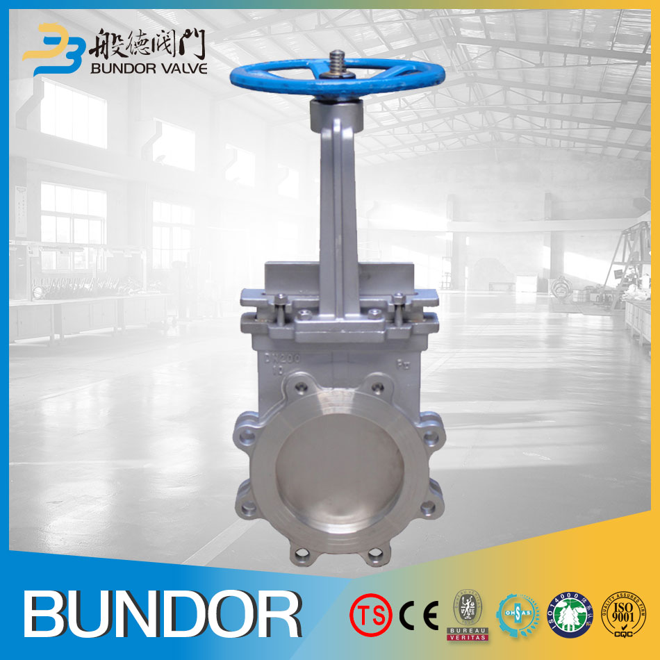 Manual stainless steel Slide Knife Gate Valve