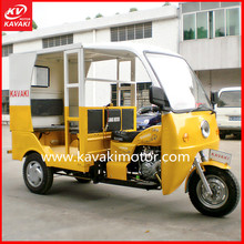 150cc air cooling original bajaj 6 passengers three wheel motorcycle car KV150ZH-ZK