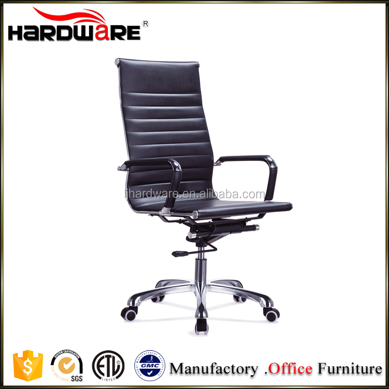 2016 popular high back metal frame swivel executive office chair