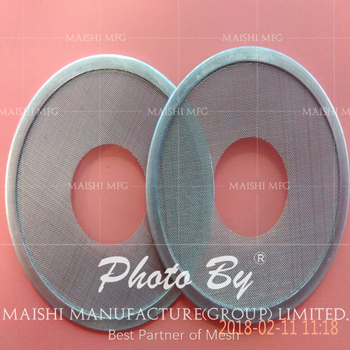 Stainless Steel Wire Mesh Ring Filter discs