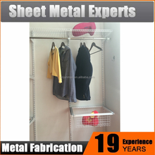 Sliding Door Clothing Wardrobe Closet Design Shelving System